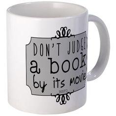 Book vs Movie Mugs on CafePress.com