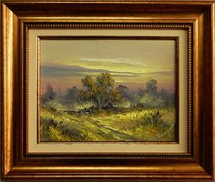 Landscape with Autumn in Romania created by the painter Ion Voineagu, Impressionism, Romania, Landscape Paintings, Art Gallery, Autumn, Artwork, Ebay, Art Work, Art Museum