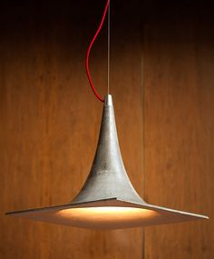 cristián mohaded forms concrete andes lamps for STRESS collection