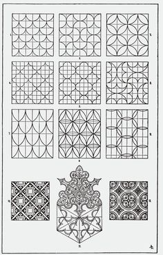 Zentangle tarzi cizimler/bazi motiflerin yapilisi What is Zentangle? Zentangle style drawings / construction of some motifs Tangle Doodle, Tangle Art, Doodle Art, Zentangle Drawings, Doodles Zentangles, Easy Zentangle, Doodle Patterns, Zentangle Patterns, Tessellation Patterns