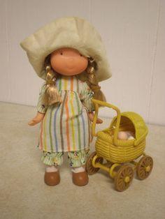 1975 knickerbocker Holly Hobbie doll - I remember saving money to buy her