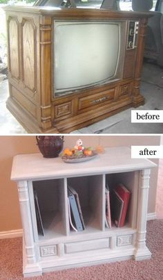 40 Awesome Makeovers: Clever Ways With Tutorials to Repurpose Old Furniture - Noted List