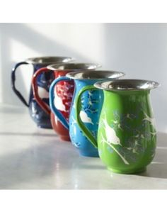 Fair Trade Lolita & Eva Hand Painted Jugs Greenheart Store