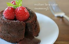 ... | Molten Chocolate Cakes, Molten Chocolate and Chocolate Cakes