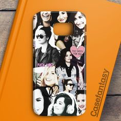 Demi Lovato Collage Samsung Galaxy S6 Edge Plus Case | casefantasy