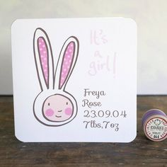 new baby card by Moobaacluck