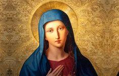"""Skuteczności tej litanii bali się sami kardynałowie. """"Strzeżcie się jej, bo czyni rzeczy przedziwne"""" Prayers For Healing, Madonna, Amen, Cancer, Spirituality, Magic, Spiritual, Artist"""