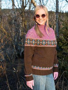 Ravelry: HØSTGLEDE genser pattern by Karihdesign Kari Hestnes