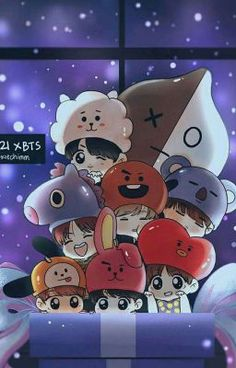 Read Capítulo 05 from the story Mi pack de BTS by with reads. army, k-pop, bts. Bts Chibi, Anime Chibi, Anime Art, Bts Lockscreen, Foto Bts, Bts Taehyung, Bts Bangtan Boy, Namjoon, Bts Jimin