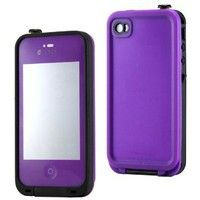 Amazon.com: GEARONIC Purple Waterproof Shockproof Full Body Skin Case Cover Pouch for iPhone 4 4S 4G, Multi Purpose Protective Skin for wate...