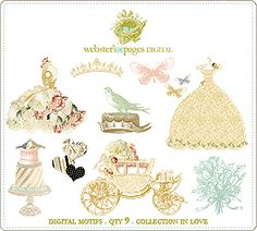 Webster's Pages In Love Designs digi collection
