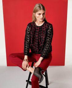 BURDA - Lace Shirt #116