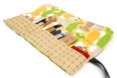 Makeup organizer bag  Dresses in Yellow fashion by Lilach Oren