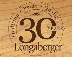 Longaberger 30 Year Anniversary Logo