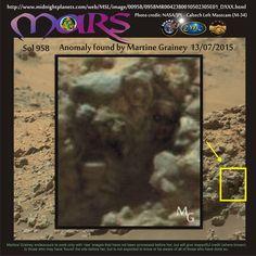 Resultado de imagen para Photos of Anomalies, over the Planet Mars