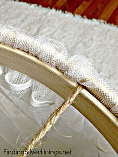 How To Make A Crib Canopy - Finding Silver Linings