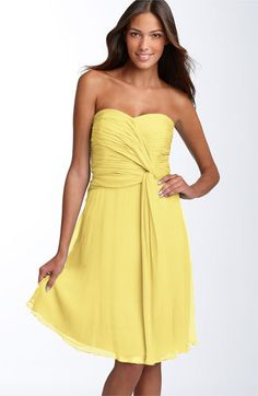 bridesmaid dresses. The style.