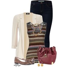 """""""Casual Friday Office Style"""" by kginger on Polyvore"""