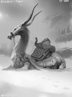 Kalessin Picture (2d, fantasy, creature)