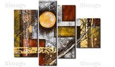 """Il quadro """" Dinamismo imbrigliato"""": uno dei quadri astratti che ho visto sul sito http://www.bimago.it"""