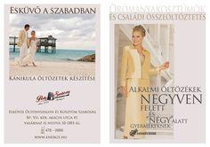 Esküvő Kiállítás Katalógus - Szabóság - Divatszalon - Szmoking kölcsönző