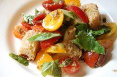 Tuscan Bread Salad: the perfect summer salad!