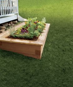 Customize and optimize your plants' nutrients and moisture with this sturdy box you can build in a day