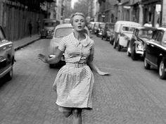 Jean Seberg dans A Bout de Souffle, 1960