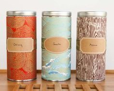 How To Make Cool Japanese Washi Tape Tins | Cool DIY Storage Ideas Using Mod Podge By DIY Ready. http://diyready.com/mod-podge-craft-ideas/