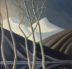 Canadian Artist and Painter Ken Harrison is a featured artist at the mountain galleries at the fairmont. Jasper Park, Banff Springs, Park Lodge, Magic Realism, Landscape Pictures, Canadian Artists, Whistler, Abstract Expressionism, Oil On Canvas