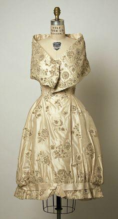 Dress, Evening  Simonetta  (Italian, born 1922)    Date:      ca. 1958  Culture:      Italian  Medium:      silk