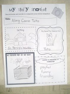 Retelling on paper.The Weekly Hive: story elements Kindergarten Language Arts, Teaching Language Arts, Kindergarten Literacy, Teaching Writing, Writing Activities, Easy Writing, Teaching Ideas, Primary Teaching, Reading Resources
