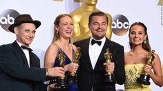 acting Oscar winners 2016