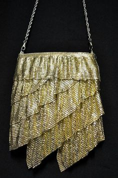 932d95bb60 1920s Flapper Style Glomesh Evening Bag By  Forever New  - Perfect  Condition Vintage Bags