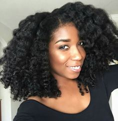 #Naptural85 I love her videos and we have similar hair textures!