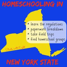 Homeschooling in New York State - StartsAtEight