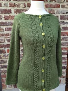 Ravelry: Marian Cardigan pattern by Taiga Hilliard Designs