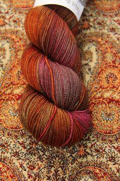 Hedgehog Fibres Twist Sock in Pheasant. Crochet Yarn, Knitting Yarn, Yarn Color Combinations, Hedgehog Fibres, Spinning Yarn, Yarn Stash, Weaving Projects, Sock Yarn, Hand Dyed Yarn