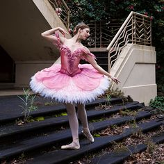 Lana Jones as Aurora in The Sleeping Beauty. The Australian Ballet, 2015. Costume design by Gabriela Tylesova. Photography Kate Longley.