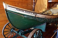 Humane Society Display #EganMaritime #ShipwreckMuseum #Nantucket