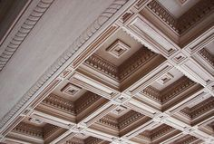 Wood Ceiling Luxury Renaissance style carved ceilings for mansions in the USA Wooden Ceiling Design, Bedroom False Ceiling Design, Wooden Ceilings, Coffered Ceilings, Home Ceiling, Ceiling Decor, Ceiling Tiles, Baroque Architecture, Architecture Details