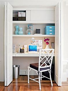 Image detail for -Turn a closet into an office