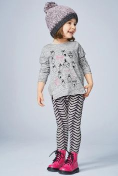 Buy Grey Girl Top And Leggings Set (3mths-6yrs) from the Next UK online shop