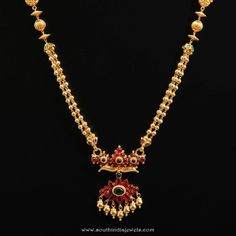 Gold Short Necklace From D.A.R Jewellers