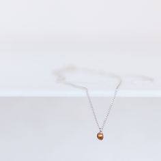 necklace | silver | rose gold