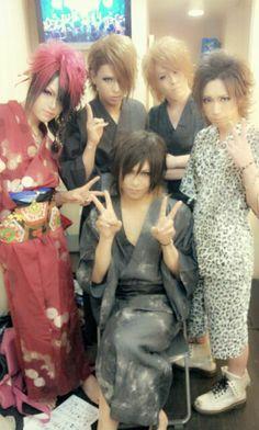 -OZ- Japanese Men, Visual Kei, Cute, Kawaii