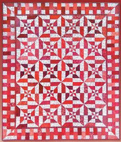 Debby Kratovil Quilts: Red Hot Flash!