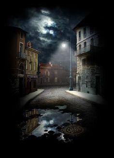 "bluepueblo: "" Moon Lantern, Prague, Czech Republic photo via johnathan "" Follow Bypooyie.tumblr.com/archive please!❤️"