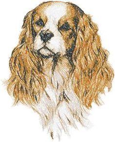 Advanced Embroidery Designs - Spaniel