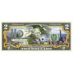September 11th 15th Anniversary Two Dollar Bill
